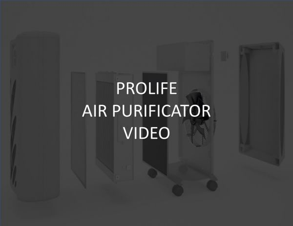 PROLIFE AIR PURIFICATOR VIDEO